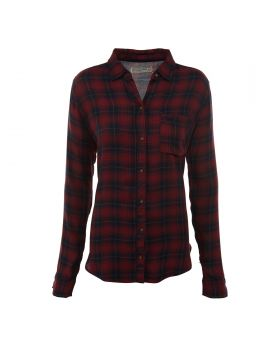 Abercrombie & Fitch Plaid Flannel Shirt Womens